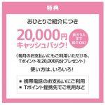 【終了しました】ご家族・ご友人紹介キャンペーンで2万Tポイントゲット出来るゾ!【ソフトバンク】